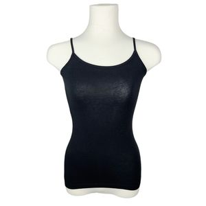 4/$30 George G21 Black Fitted Camisole XS